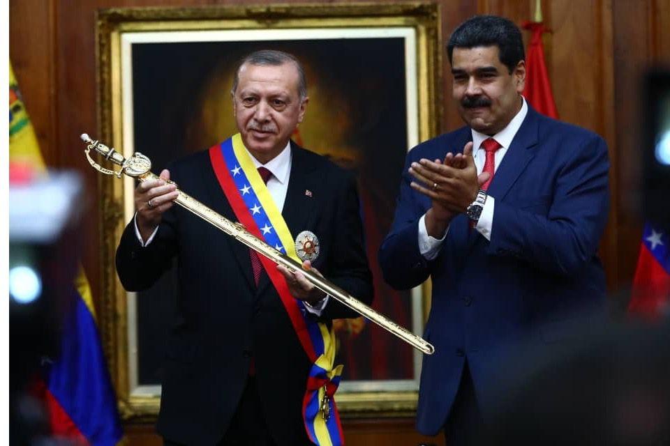 Es conocida la buena relación entre Maduro y Erdogan / Foto: Prensa Presidencial