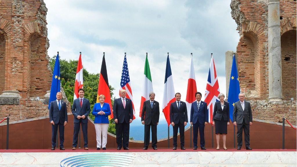 Los siete líderes internacionales están cuadrados contra Maduro / Foto: WC