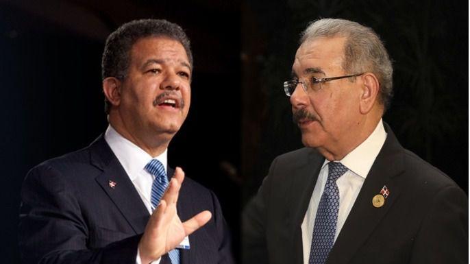 Lo de Leonel Fernández y Danilo Medina es una pelea entre caudillos / Montaje: ALN
