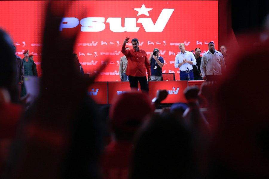 Maduro quiere acentuar el quiebre de la comunidad internacional / Foto: Prensa Presidencial