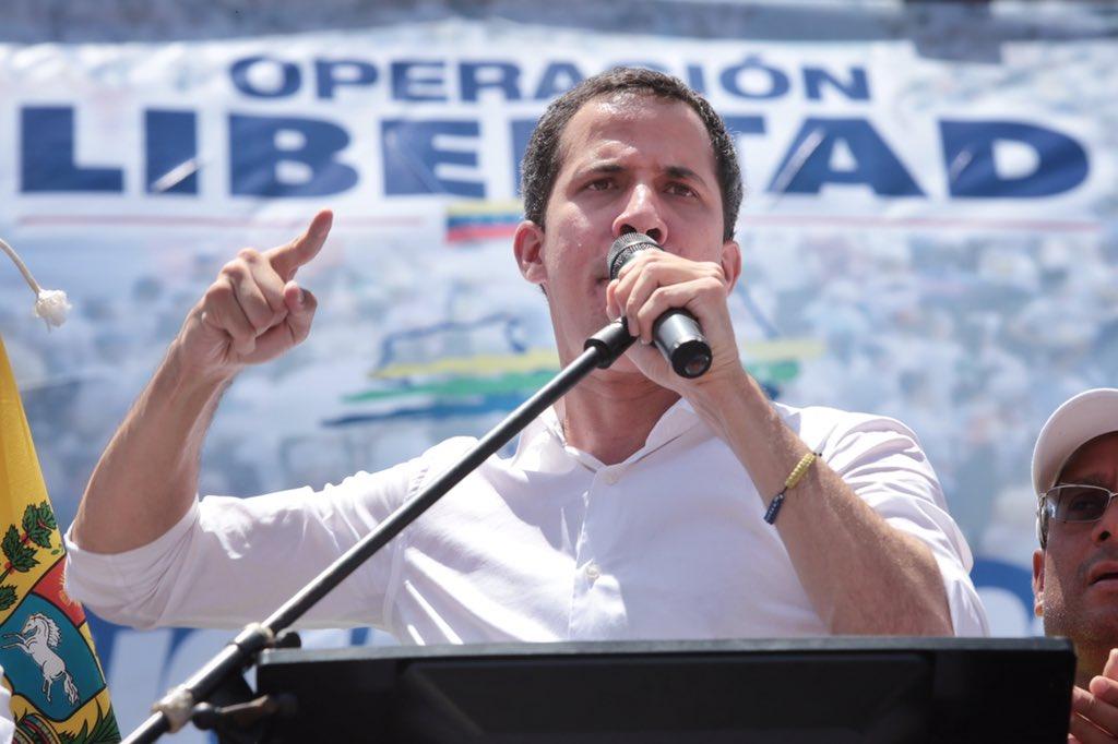 La ofensiva del régimen de Maduro es contra Guaidó / Twitter: @jguaido