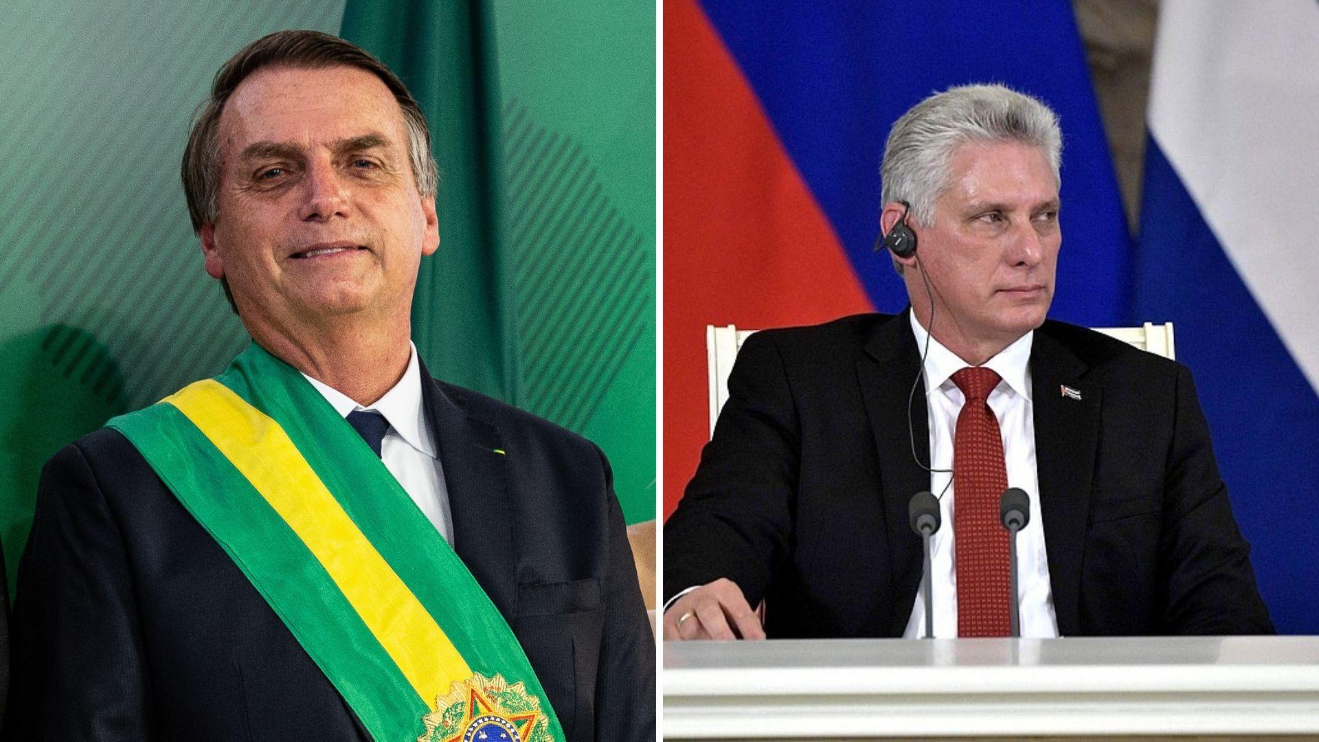 La polémica la comenzó Bolsonaro / Foto: Montaje ALN