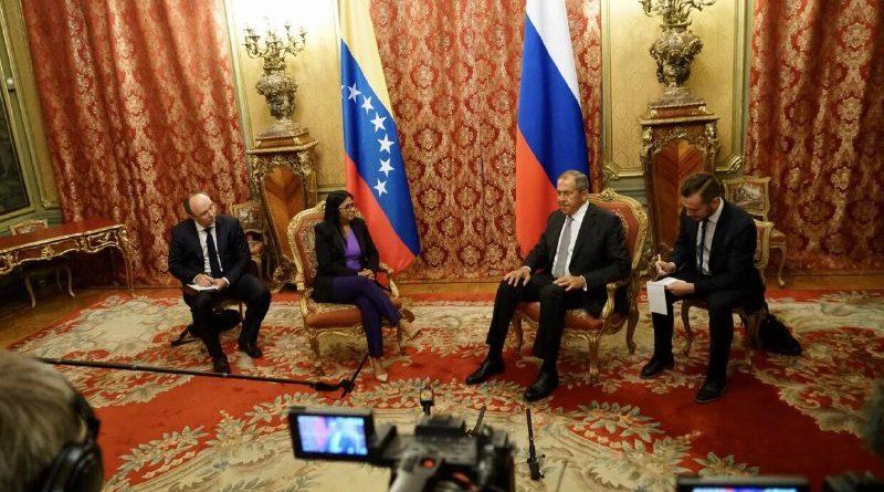 Este jueves sería el cuarto día de la delegación en Moscú / Foto: Vicepresidencia de Venezuela