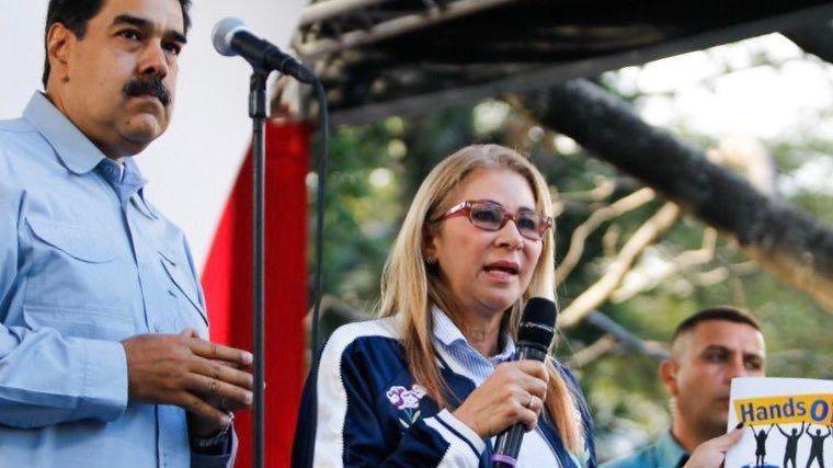 Cilia Flores fue la encargada de dar el estatus político a las FARC y el ELN / Foto: @conciliaflores