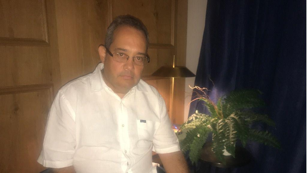 El magistrado Rafael Ortega vive en un refugio para asilados políticos en Madrid / Foto: David Placer