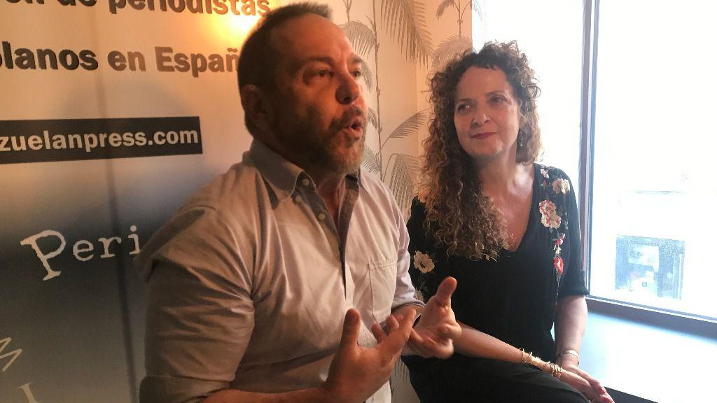 Miguel Ferrari promociona en España su nueva película / Foto: ALN