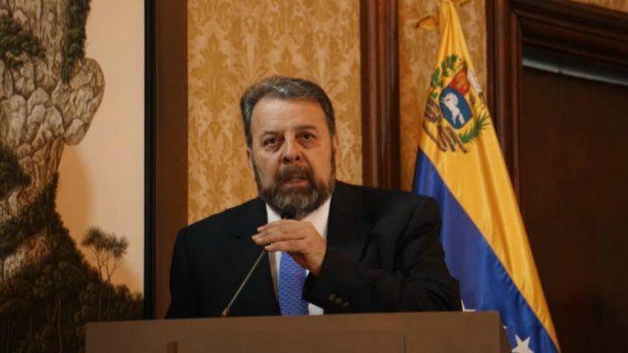 Timoteo Zambrano, dirigente de oposición que lideró el pacto con el régimen de Maduro./ Foto: Cancillería