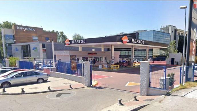El primo de Diosdado Cabello es propietario de una gasolinera Repsol en Madrid / Foto: Google Maps