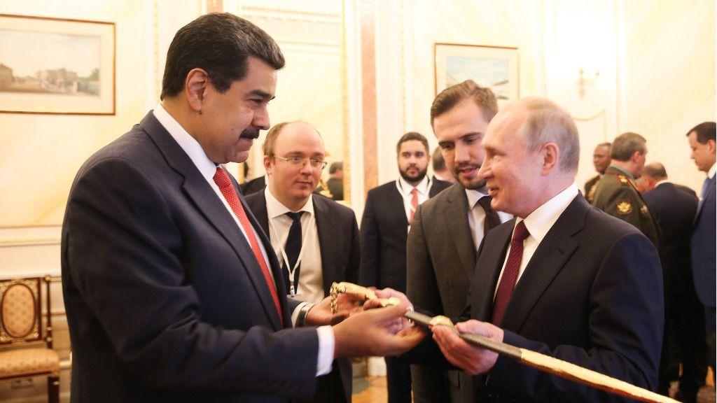 Maduro le dijo a Putin que tiene un plan para la economía / Foto: Prensa Presidencial