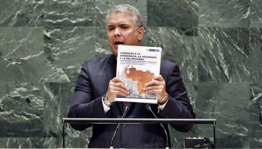 Dice Duque que en Venezuela hay 207 ubicaciones controladas por el ELN / Foto: Web UN