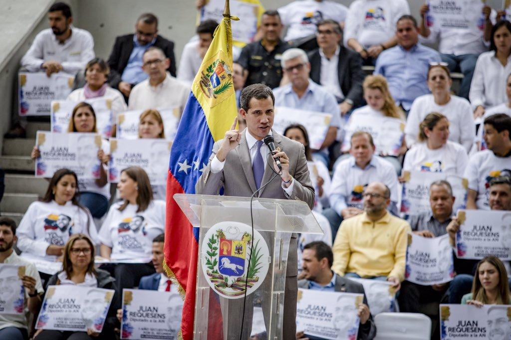 Gracias a Maduro queda claro que Guaidó es el líder en Venezuela / Twitter: @jguaido