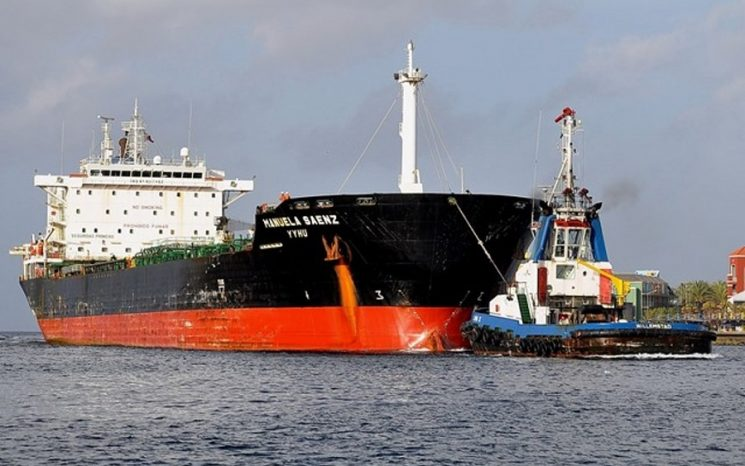 El barco salió del estado Falcón de Venezuela y arribó a Cuba el sábado / Foto: WC