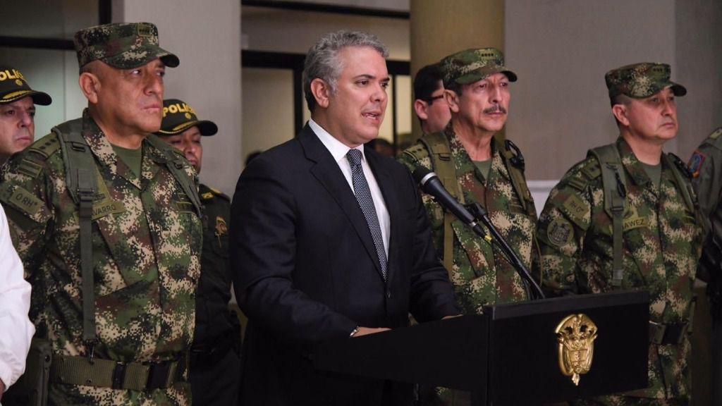 Iván Duque dijo que el error en el dossier era anecdótico / Foto: Gobierno de Colombia