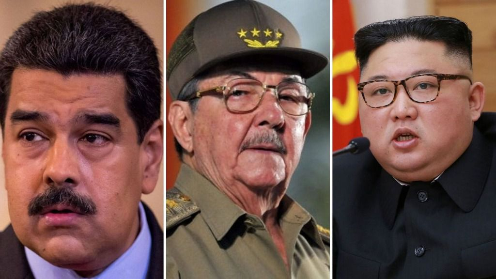 Son tres mandatarios repudiados por el mundo / Foto: Montaje ALN