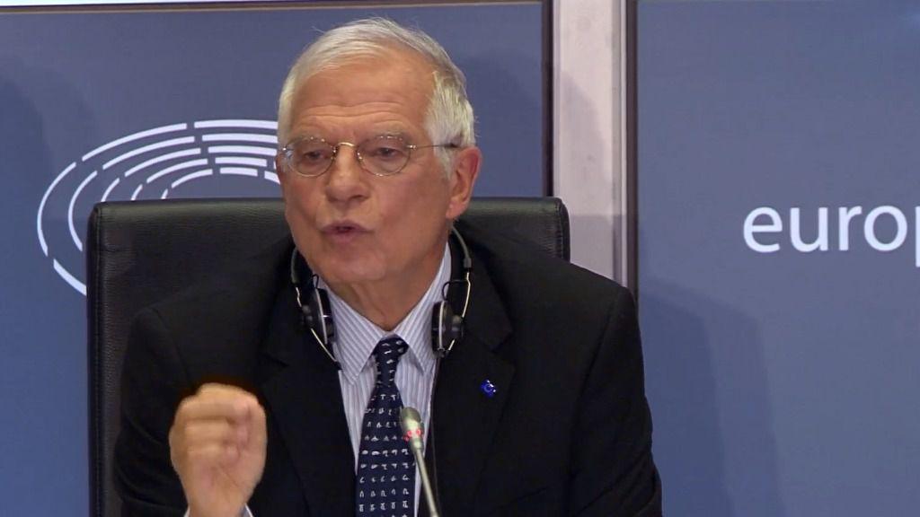 Borrell rechaza las sanciones generales contra Venezuela / Foto: Parlamento Europeo