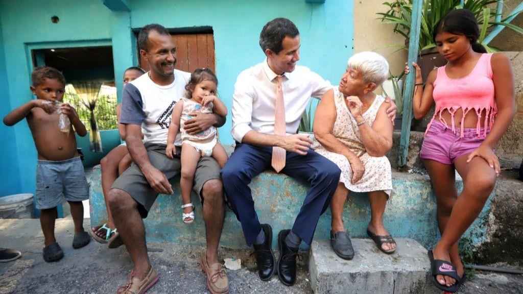 Guaidó se ha recorrido Venezuela mientras Maduro no ha salido del Palacio de Miraflores / Foto: Presidencia Guaidó