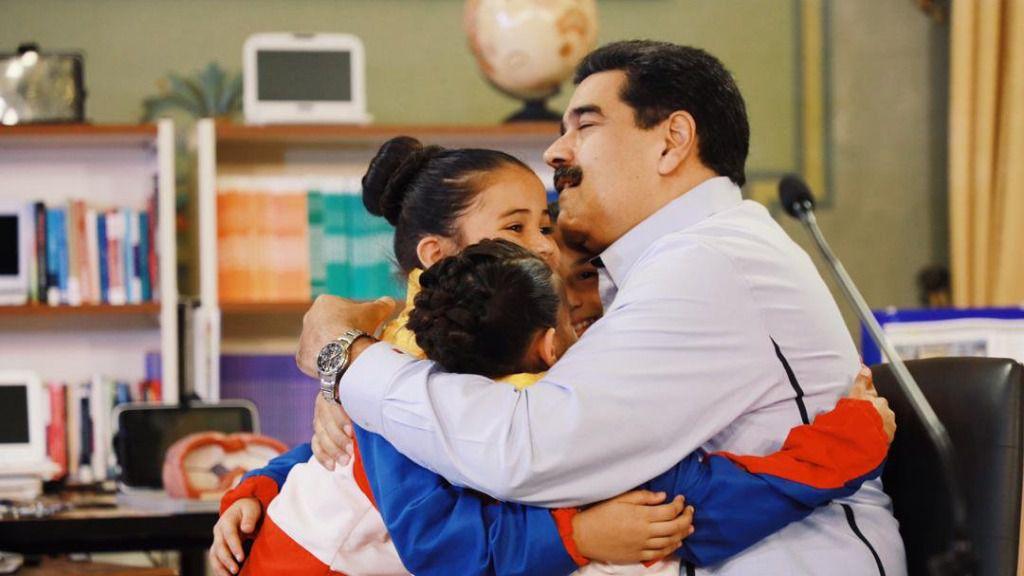 Nicolás Maduro habla de un triunfo de paz / Foto: Prensa Presidencial