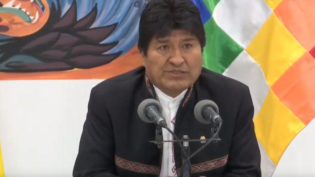 Evo Morales denuncia un golpe de Estado en su contra / Foto: Gobierno de Bolivia