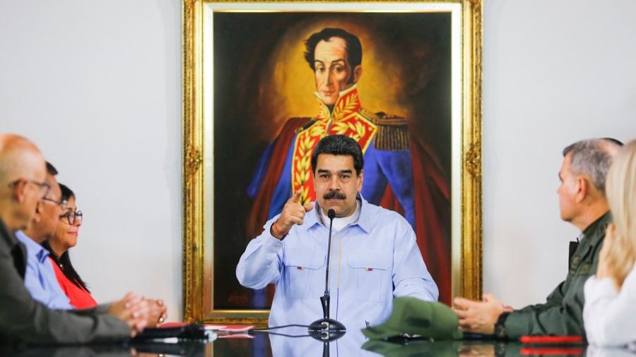 Maduro está cada vez más vigilado por la UE / Foto: Prensa Presidencial