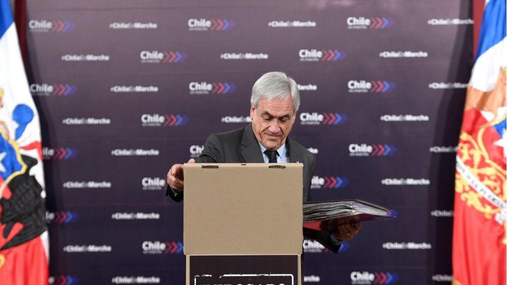 Fernando Mires dice que en Chile hay una desconexión total entre los partidos y la gente / Foto: Gobierno de Chile