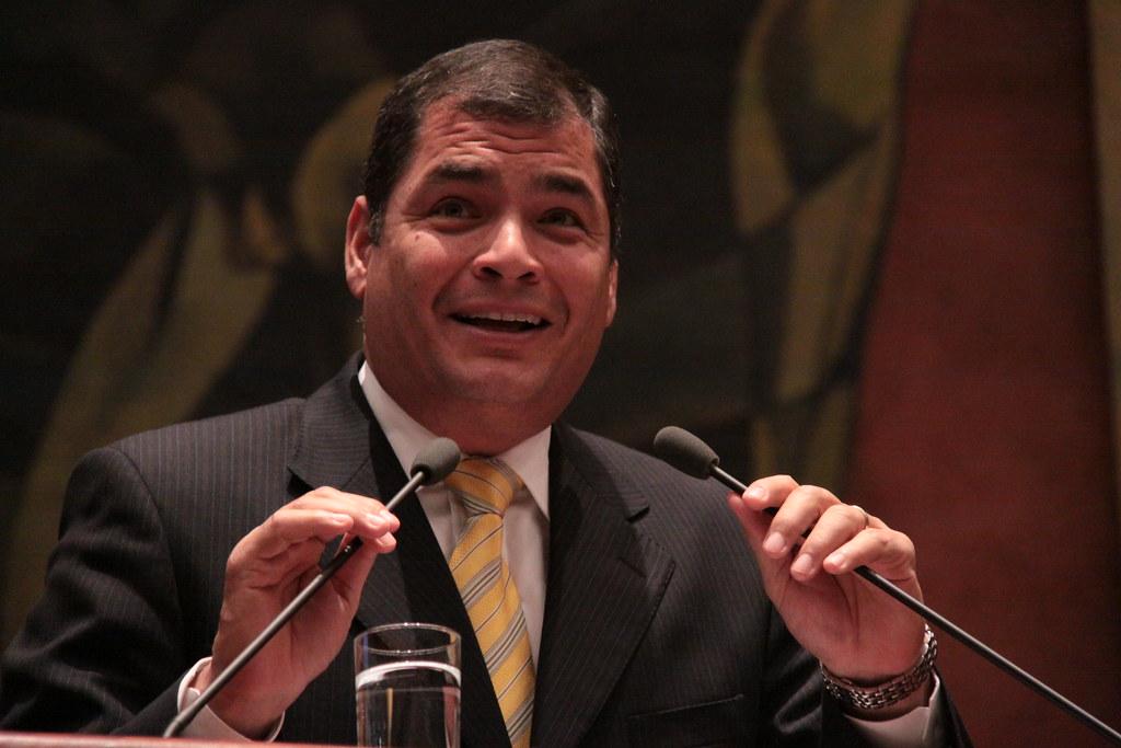 """""""Algo de razón tiene Correa"""", dice un analista / Foto: Presidencia de Ecuador"""