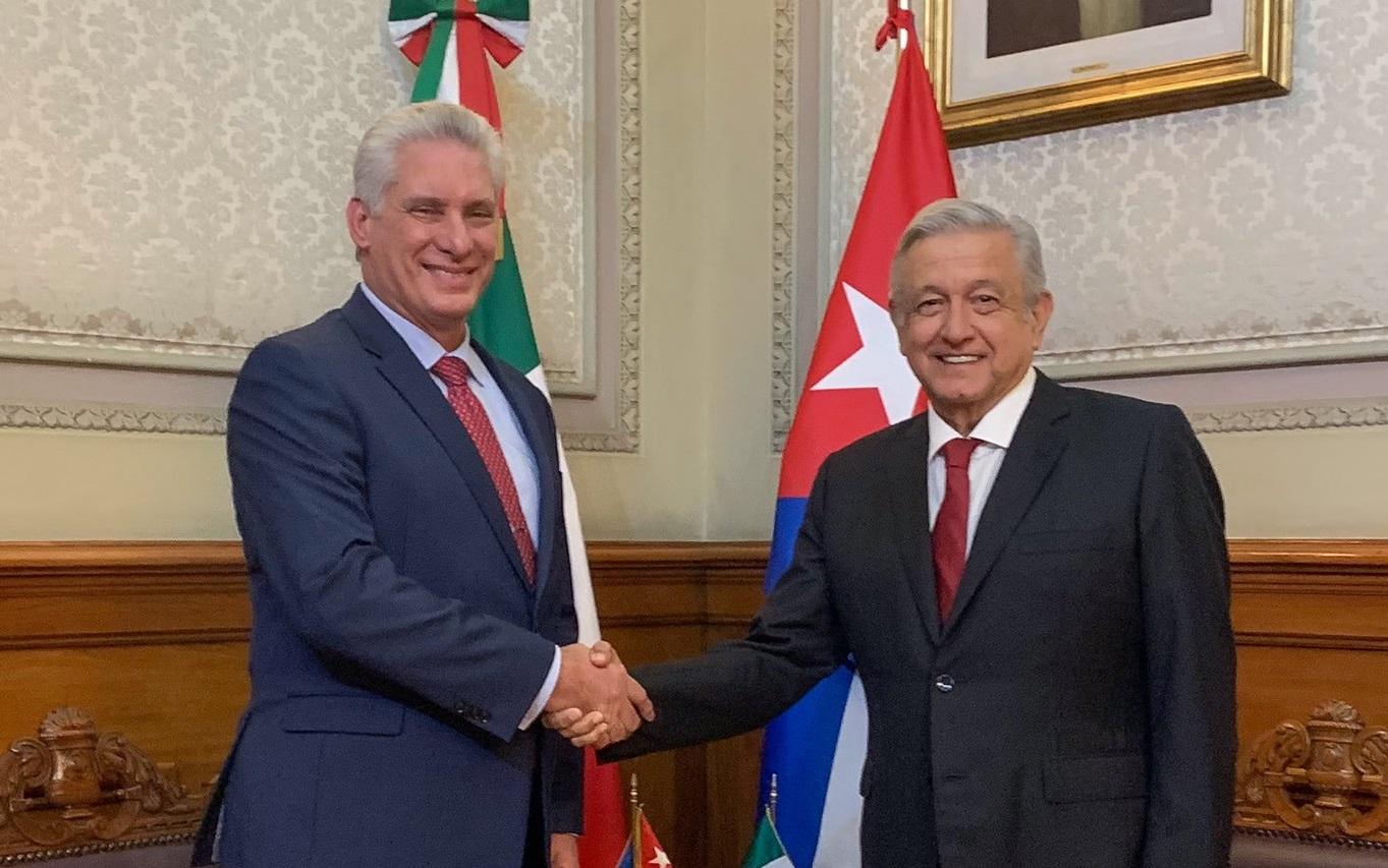 Las misiones cubanas en México podrían molestar a Donald Trump / Foto: Gobierno de México