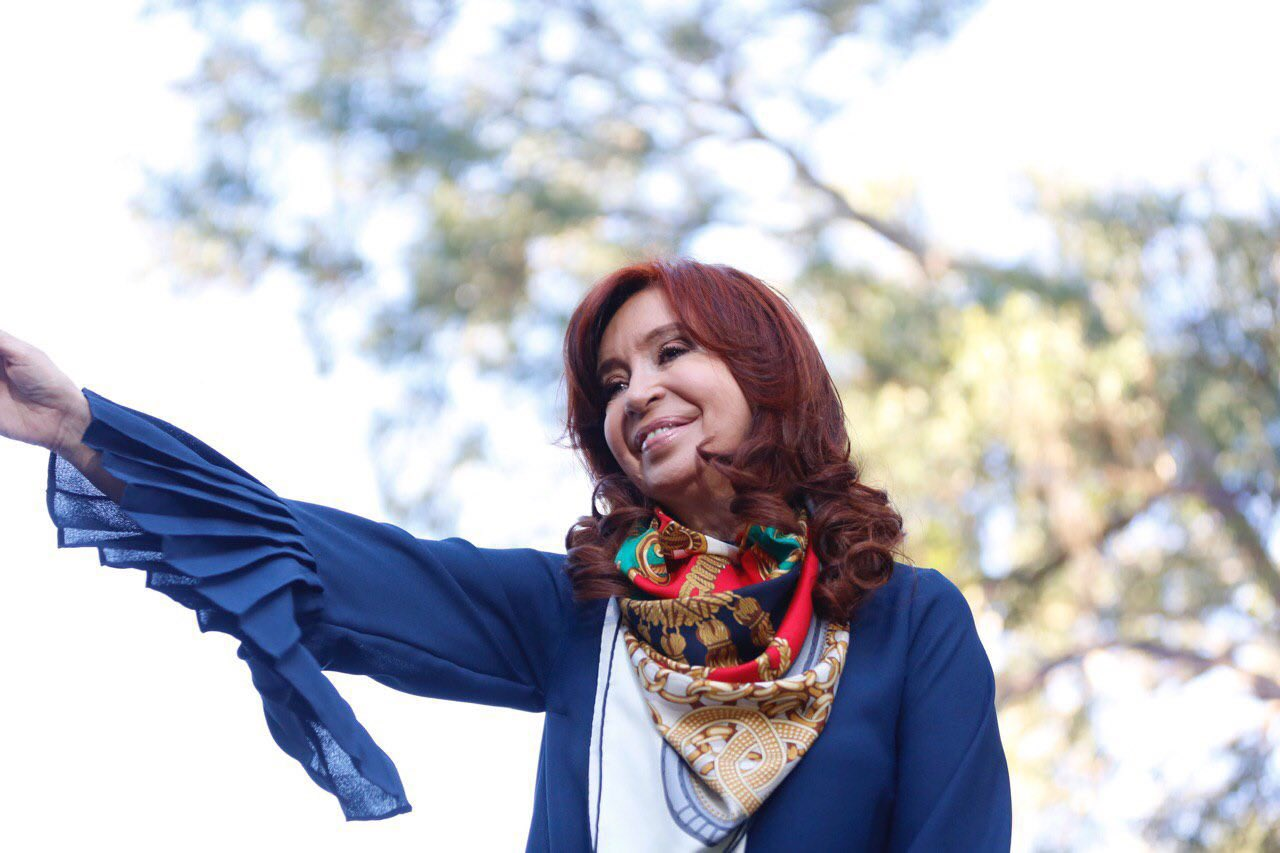 Nuevo estímulo al escándalo de los cuadernos a 4 días de las elecciones en Argentina / Foto: CFK