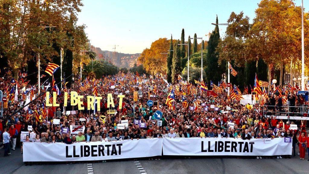 Protestas Cataluña