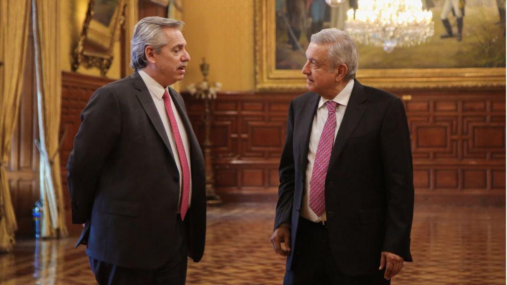 Lopez Obrador Alberto Fernandez