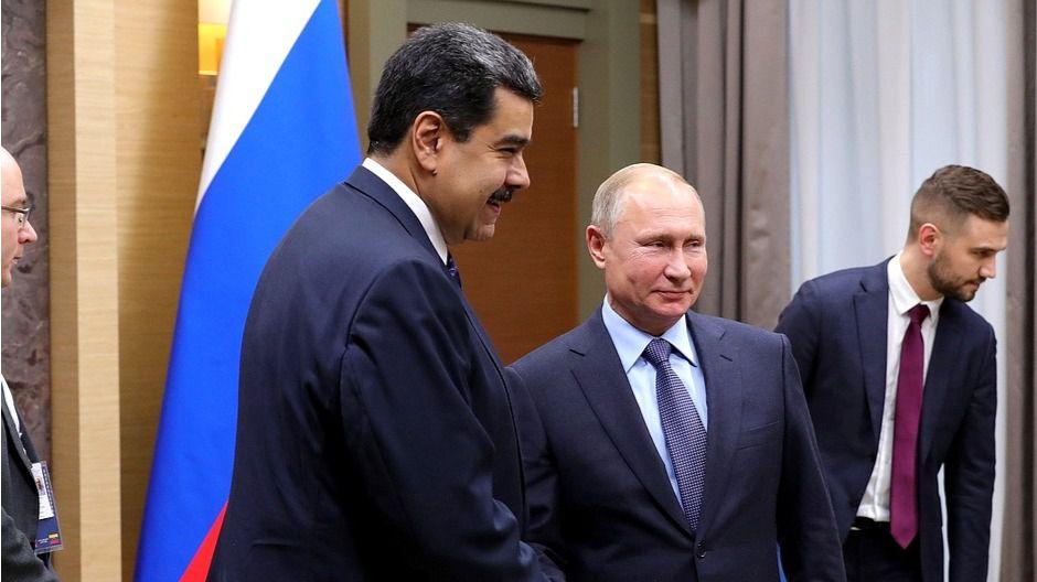 Nicolás Maduro sí que le paga a Rosneft y a Putin / Foto: Kremlin