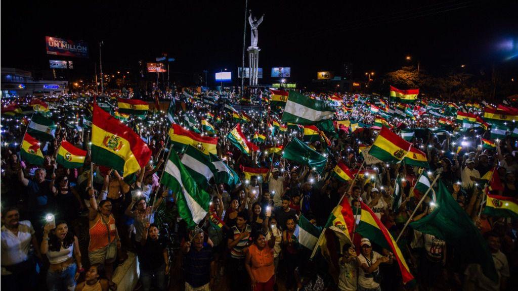"""""""No defender el resultado de un fraude no es un golpe"""", dice la analista Anna Ayuso / Foto: Comité Cívico Santa Cruz"""
