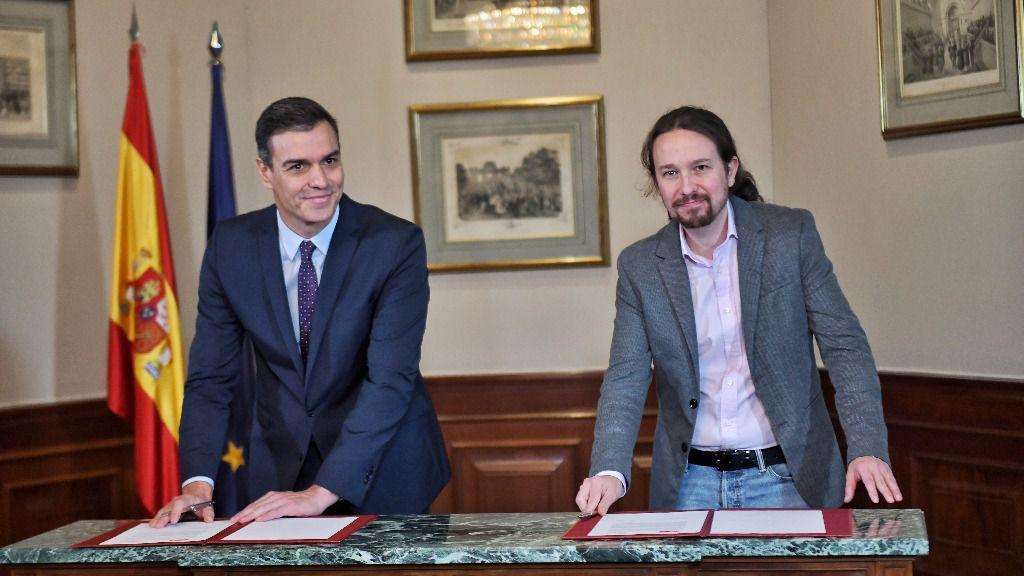 ¿Se moderará Pablo Iglesias al lado de Pedro Sánchez? / Foto: Unidas Podemos