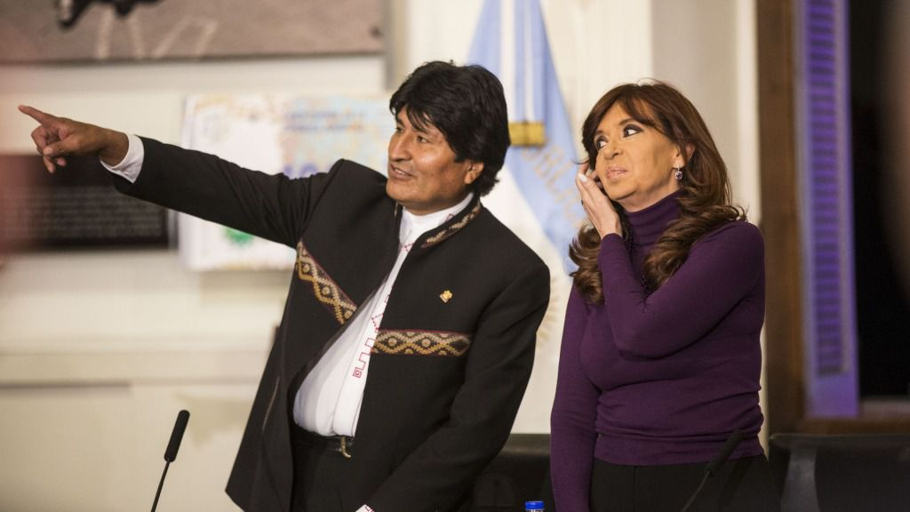 Evo y Cristina