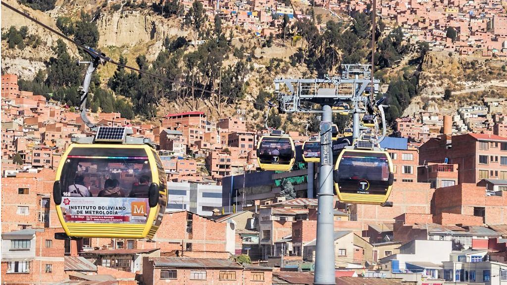 Teleferico de Bolivia