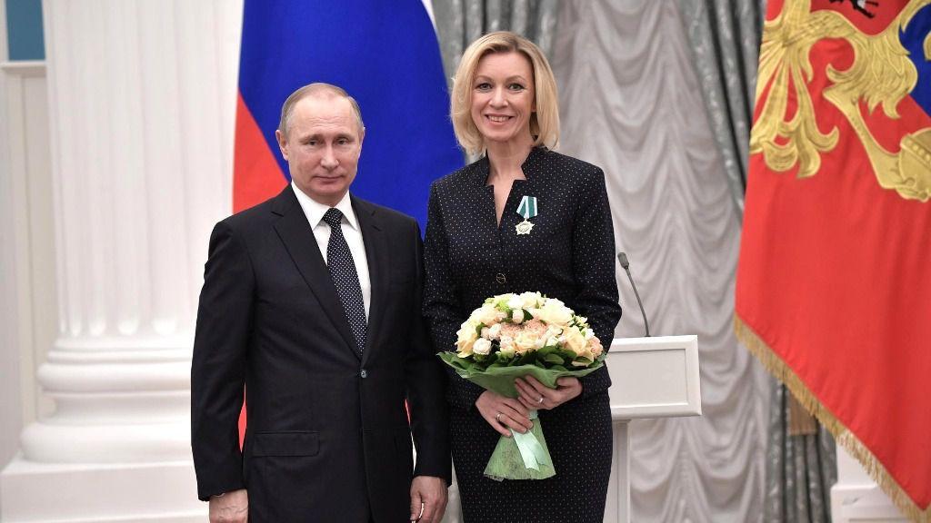 La portavoz rusa critica que Bolivia quiera restablecer relaciones con Washington / Foto: Kremlin