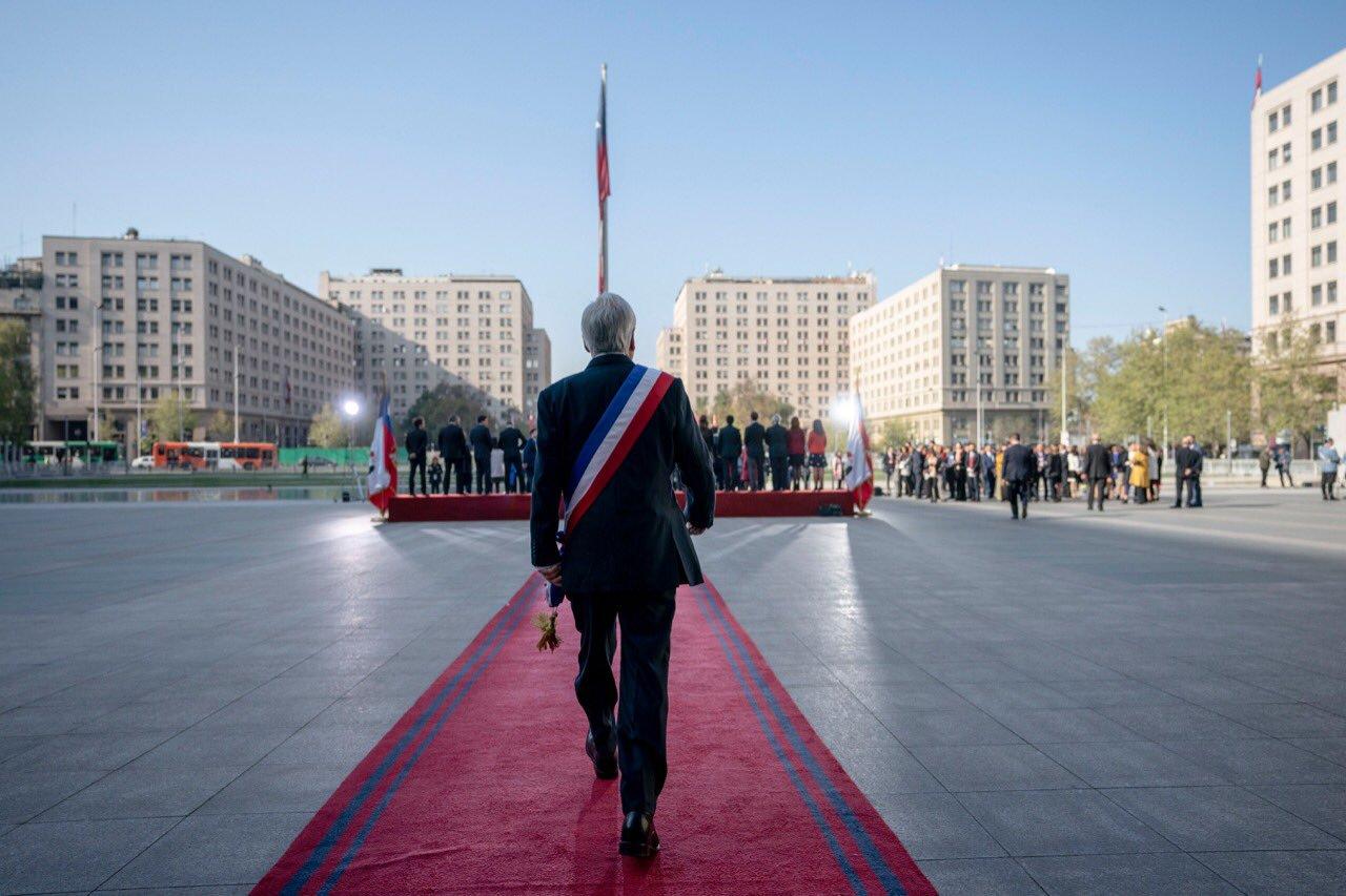 Sebastián Piñera acaba de cortar las ventajas fiscales a las fortunas / Foto: Gobierno de Chile