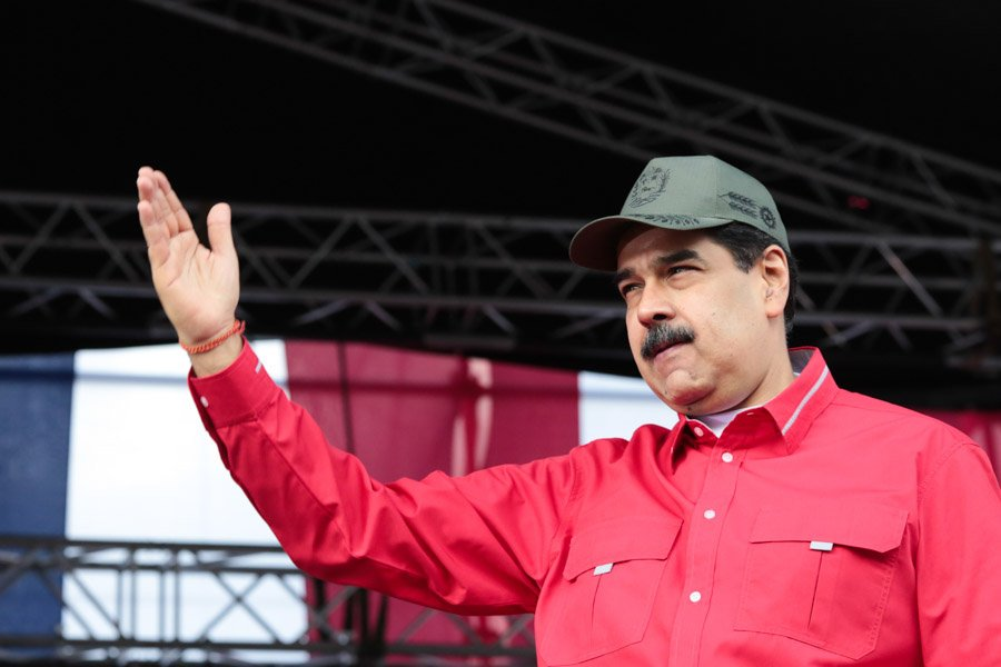 Juan Guaidó dice que células violentas financiadas por Maduro agitan Latinoamérica / Foto: Prensa Maduro