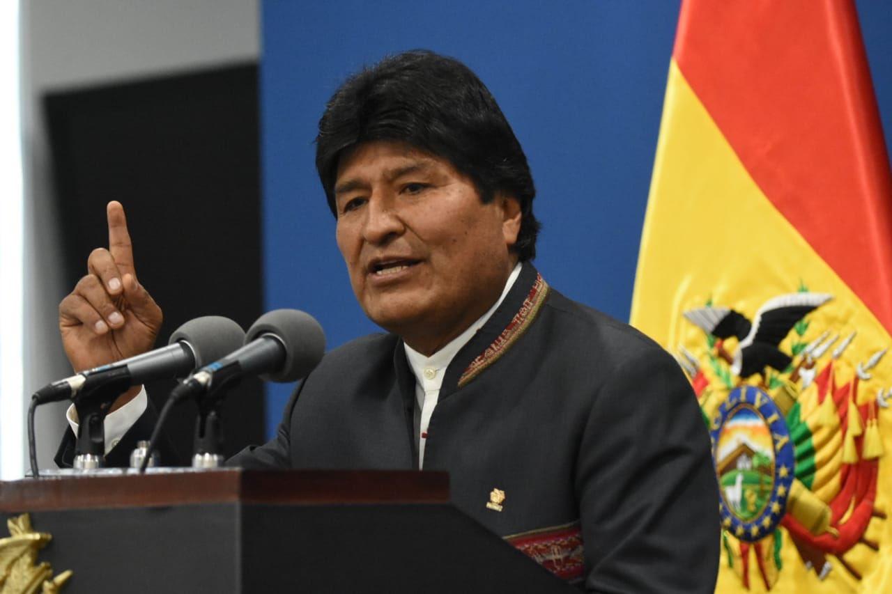 Se ve que Evo Morales no quiere enfrentar a los militares / Foto: @evoespueblo