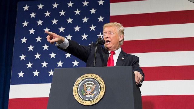 Trump arrecia el discurso de odio y exclusión / Foto: Casa Blanca