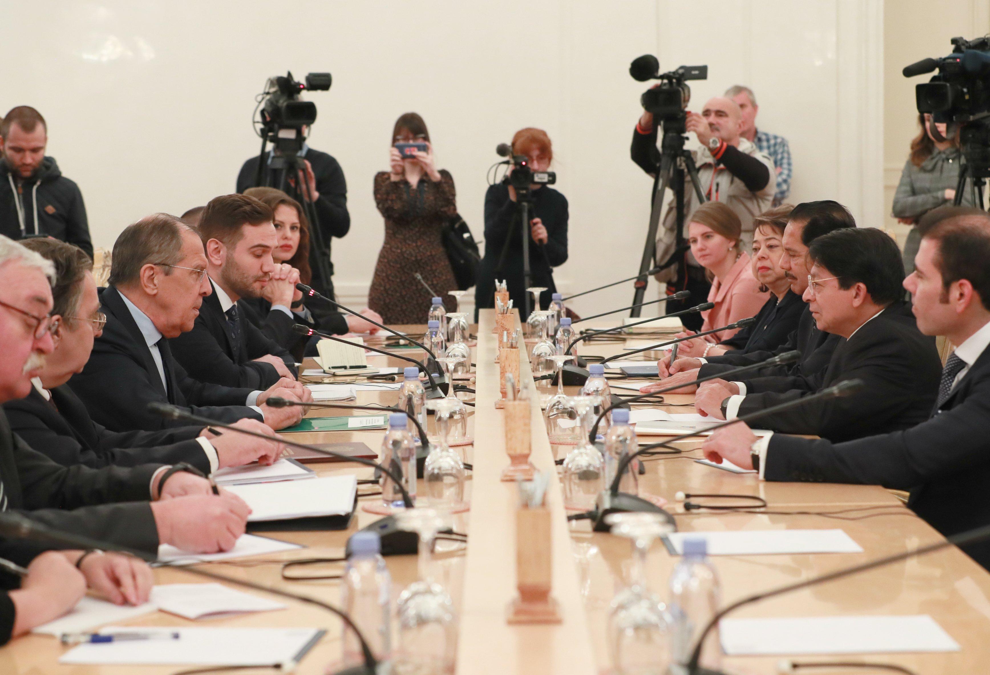 Rusia y Nicaragua celebran 75 años de relación diplomática / Foto: Cancillería de Rusia