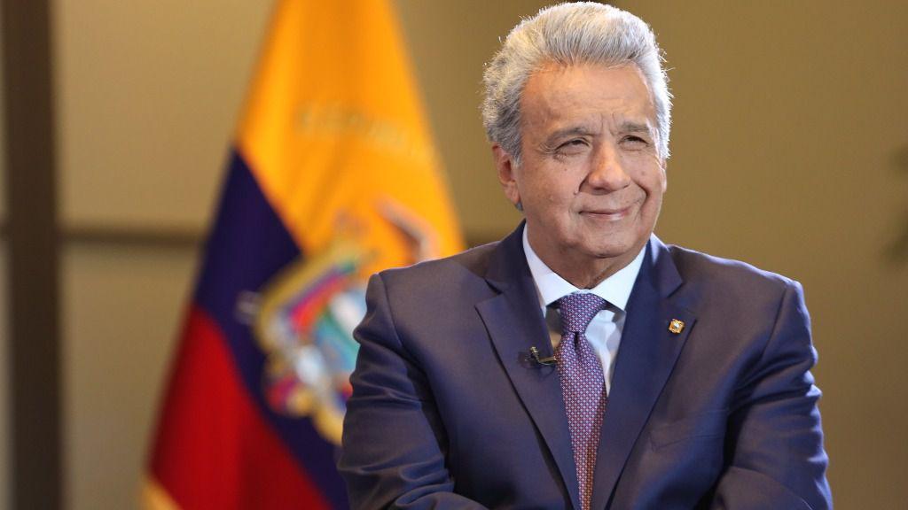 Lenín Moreno acusa a Rafael Correa, Nicolás Maduro y Evo Morales / Foto: Presidencia