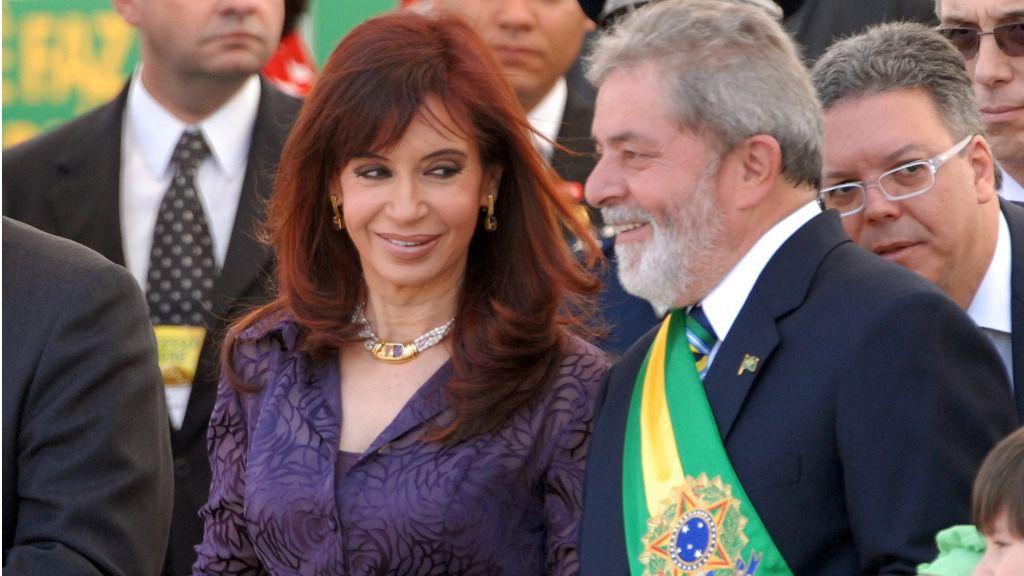 Lula y Cristina
