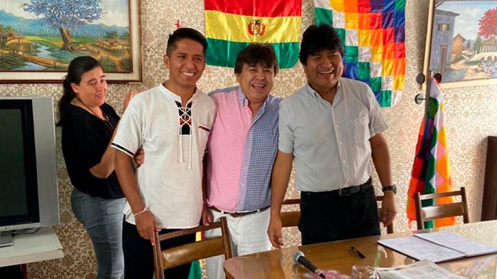 El candidato de Evo Morales es uno de los favoritos en las encuestas / Foto: MAS