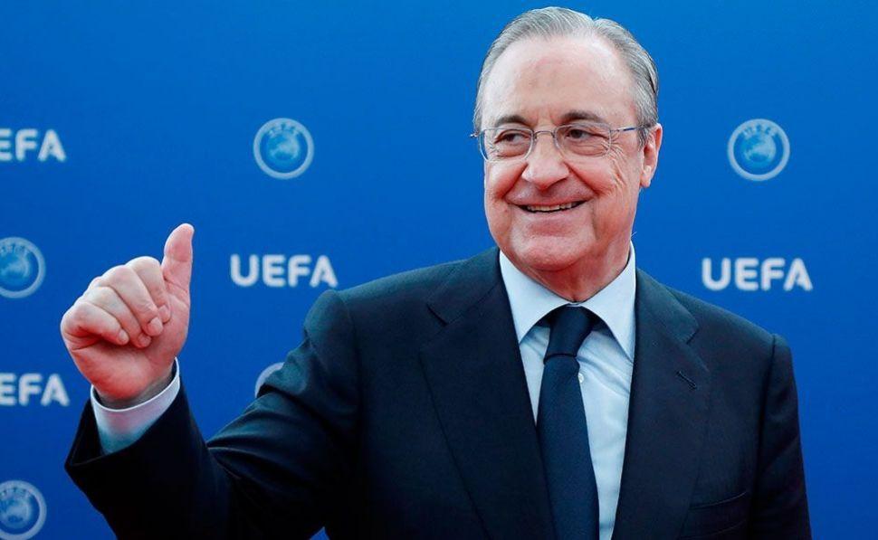 Florentino Pérez ocupó varios altos cargos políticos con la UCD de Adolfo Suárez / Foto: UEFA