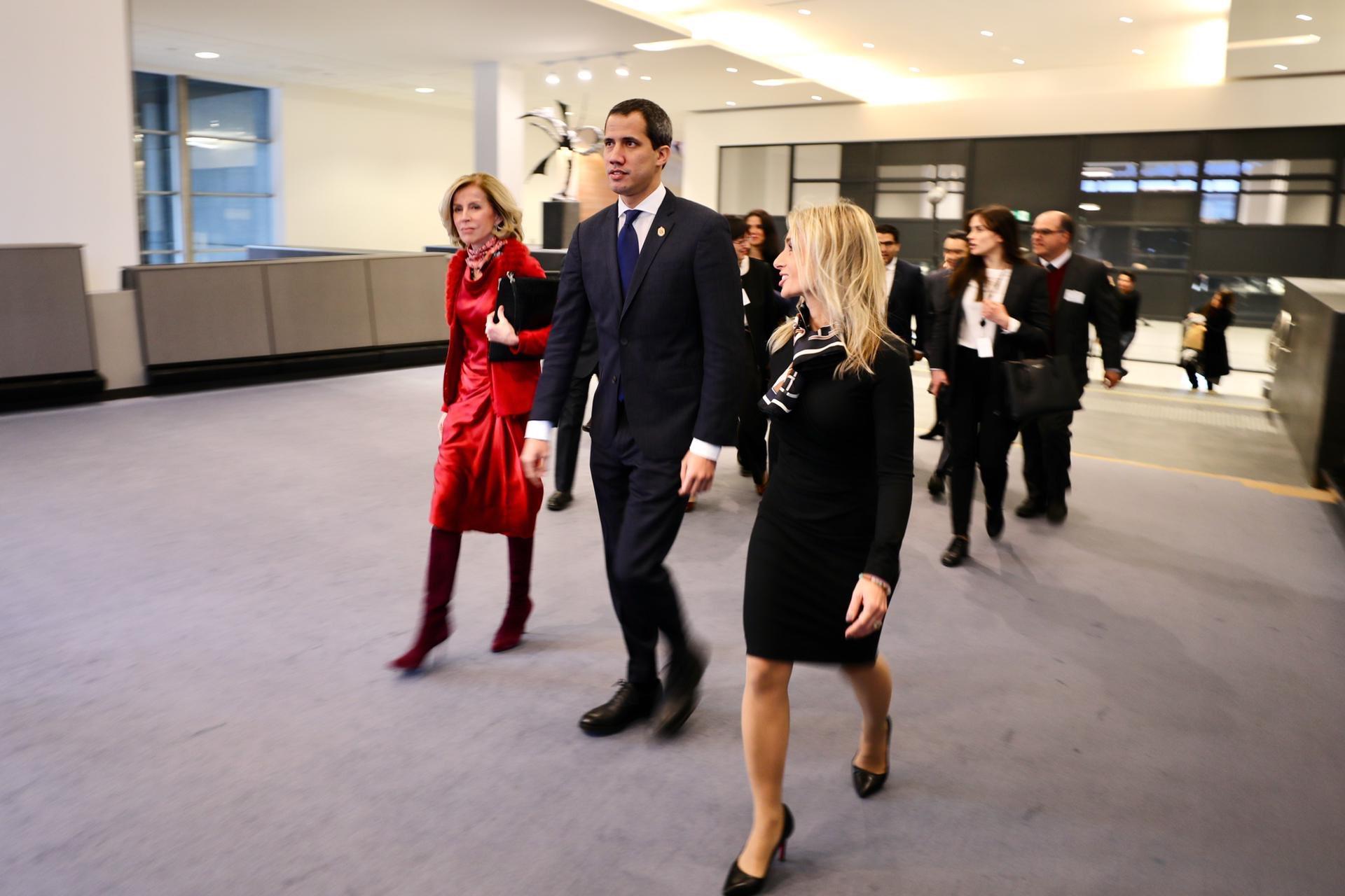 Guaidó llegará a Madrid el sábado en la tarde / Foto: CCN