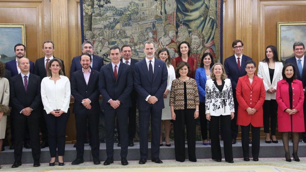 Gabinete de Sanchez