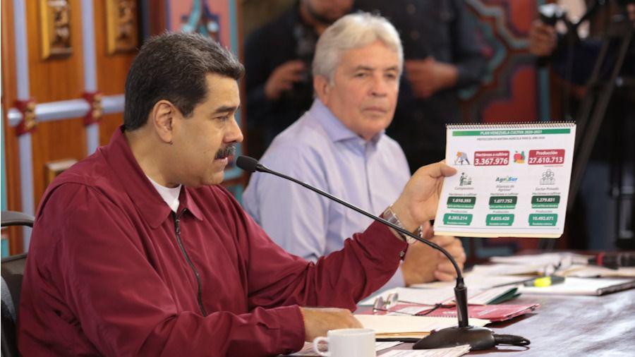 Maduro sabe que el petróleo es un arma poderosa / Foto: Prensa Maduro