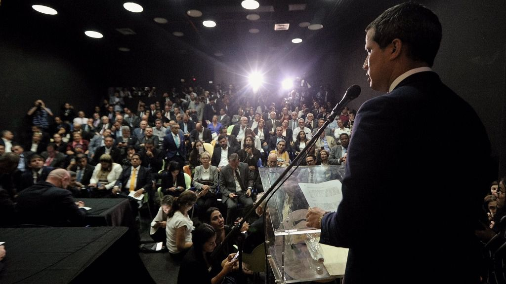 Guaidó tiene una agenda ininterrumpida hasta las seis de la tarde / Foto: Prensa Guaidó