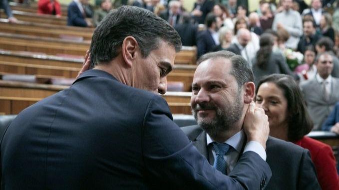 Ábalos es la mano derecha de Sánchez en el PSOE / Foto: PSOE