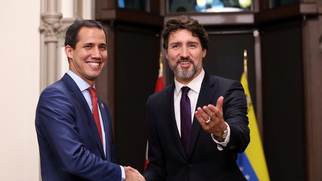Trudeau destacó el liderazgo de Juan Guaidó / Foto: CCN